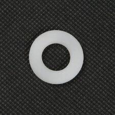 Qty 10 Nylon Flat Washer M12 (12mm) x 24mm x 2mm White Spacer Plastic Bush