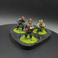 Painted 28mm Bolt Action Ww2 German Grenadier HQ team (3 men)