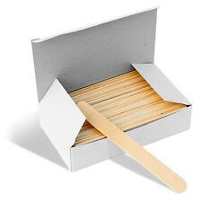 Disposable Wooden Waxing Spatulas Box of 100