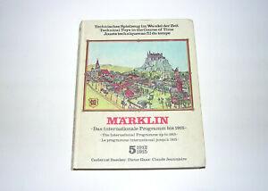 Märklin Technisches Spielzeug im Wandel der Zeit Band 5 1912-1915