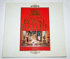Sadler'S Well Royal Ballet Program Japan 1989