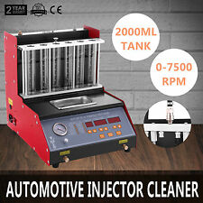 TQ-6 Petrol Fuel Injector Cleaner Tester Ultrasonic Cleaner Motorbike Automotive