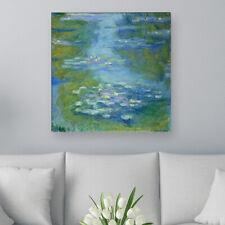 """WANDKINGS Leinwandbild Claude Monet - """"Seerosenteich 1907"""""""