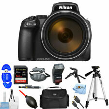Nikon COOLPIX P1000 Digital Camera (26522) Professional Bundle W/Bag, Extra Batt