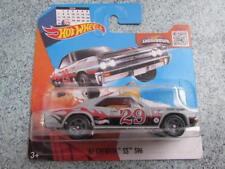 "HOT WHEELS 2016 # 092/250 1967 Chevelle SS 396 Gris "" 29th FEB "" HW llamas funda"