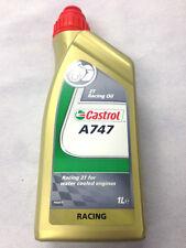Aceite  Castrol 2T A747 1 litro mezcla | con recino | lubricante | motor | 24H