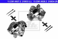 Bremssattel für Bremsanlage Hinterachse ATE 13.2381-8027.2