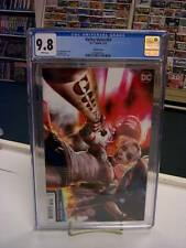 HARLEY QUINN #59 (DC Comics, 2019) CGC 9.8 ~ Derrick Chew Variant ~ White Pages