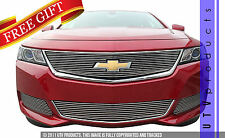 GTG 2014 - 2019 Chevy Impala 4PC Polished Custom Overlay Billet Grille Grill Kit