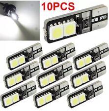 10pcs Canbus Sans Erreur Blanc DEL T10 168 194 W5W Wedge 4 SMD 5050 Ampoule