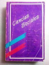 Introduccion a Las Ciencias Sociales V II Antologia de Lecturas 1994 Puerto Rico