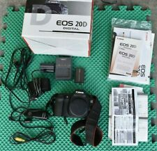 Canon EOS 20D 8.2MP Digital SLR Camera Body with  extra!!!