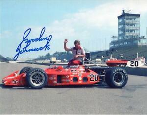 Gordon Johncock autographed 1973 Indy 500 Winner 8x10 photo