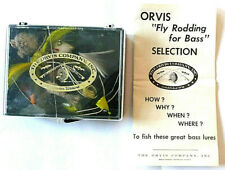 New listing Vintage Orvis Box Of Nine (9) Bass Flies See Pictures To Check Out The Patterns