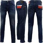 Mens Replay Anbass Hyperflex Blue Slim Jean
