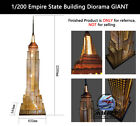 1/200 Empire State Building Puzzles Diorama GIANT Over 7 Feet Tall