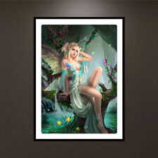 Angel DIY 5D Diamond Painting Embroidery Elf Fairy Cross Stitch Home Decor