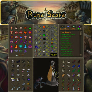 Max Combat Main | 1760 Total | 221 QP | Nightmare Pet | OSRS | Delivery 24 hours
