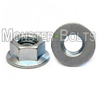 Metric Zinc Hex Flange Nuts DIN 6923 Class 8 Alloy Steel M3 M4 M5 M6 M8 M10 M12