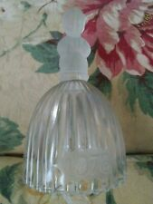 """Goebel Clear Crystal Dinner Bell 1978, Praying Little Girl, 6 1/4"""", Frosted Top"""