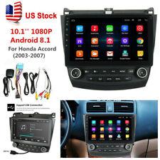 10.1' Android 8.1 Quad-Core Car Stereo Radio Gps Nav For Honda Accord 2003-2007