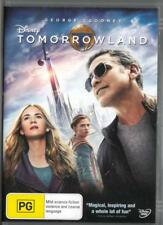 TOMORROWLAND - GEORGE CLOONEY -DISNEY- NEW & SEALED REGION 4 DVD FREE LOCAL POST