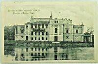 Feldpostkarte aus Kalisch Kalisz in der Kriegszeit 1914/15 Theater Teatr