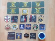 Assorted Pub Beer Mats, 22 Inc Guinness Extras
