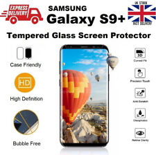 Case Friendly Bubble Free Tempered Glass Screen Protector For Samsung S9+ CLEAR