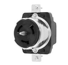 Hubbell Wiring Device-Kellems CS6369 50A Twist-Lock Receptacle 3P 4W 125/250Vac