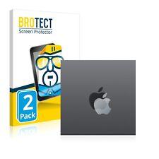 """2x Film Protection pour Apple iPad 10.2"""" 2019 (Logo) Transparent Protecteur"""