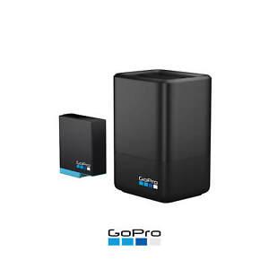 GoPro Official Genuine Dual Battery Charger Hero8 Hero7 Hero6 Hero 5 6 7 8 Black