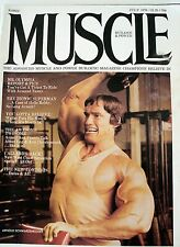 Body Building MUSCLE BUILDER MAGAZINE JULY 1976 ARNOLD SCHWARZENEGGER