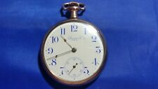 Antique Standard 7j Open Face Pocket Watch GF Case