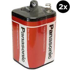 2 Batterie Panasonic 4R25 6 V 6 V 996 PJ996 908 908 S 4R25X 4R25RZ/B Lanterna