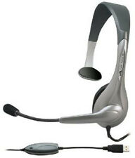 NEW Hands Free Sil Headset.Direct Noise Canceling Technology.Headphones.Mic.USB.