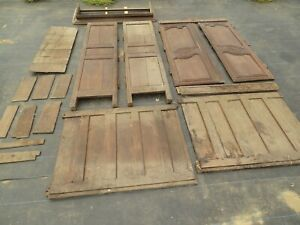 18th C. Large French Wedding Armoire, Unassembled