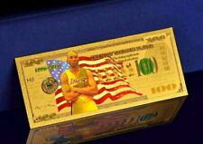 "★★ BILLET POLYMER  "" OR "" DU 100 DOLLARS KOBE BRYANT / NBA LAKERS ★★"