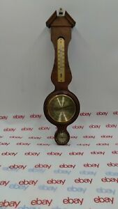 Vintage Jason Wood Wall Barometer Thermometer Humidity Weather Station  Germany