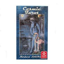 Cosmic Tarot Por Norbert losche 78 Cartas Deck Con Instrucciones
