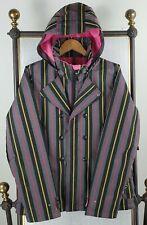 BURTON DRYRIDE Size XL Womens Double Breasted Pinstripe Tuxedo Ski Jacket $249