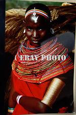 Leni Reifenstahl Original Cibachrome Photo Samburu Girl Kenya Africa 1976 No. 2