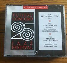 Fujitsu-Concord 25th Jazz Festival, Silver Anniversary Set 2CD Concord Jazz