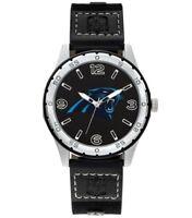 Men's Carolina Panthers NFL Football Team Player Series Sparo Black Wrist Watch