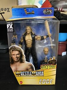 WWE Wrestlemania 37 Elite Collection Edge Action Figure with Build-a-Figure Part