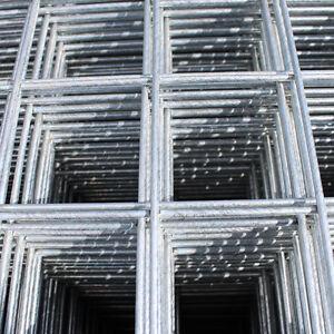 "Galvanised Wire Mesh Panels   4 Pack   12 Gauge   2.44m x 1.22m   2"" Holes"