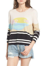 WILDFOX Harbour Sunset Sweater Top Size Large L NEW Retail $150.00