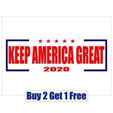 20pk Keep America Great - DONALD TRUMP 2020 -Bumper Stickers - MAGA-GoGostickers