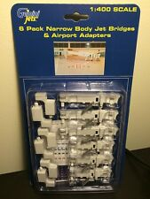 NARROW BODY JET BRIDGES - GEMINI JETS AIRPORT 6 piece Set GJARBRDG1 NEW 6 PACK