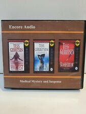 Encore Audio Tess Gerritsen 3 Audio Books. HARVEST, LIFE SUPPORT, BLOODSTREAM.
